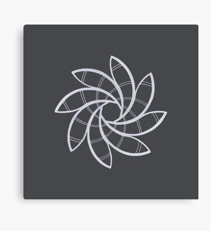 Mandala #219 || Chalk Canvas Print