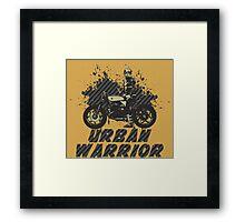 Urban Warrior Framed Print