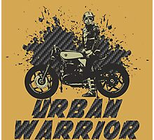 Urban Warrior Photographic Print