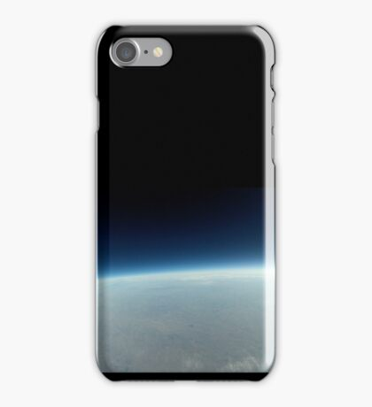 Black Sky - Image from a Cube Satellite iPhone Case/Skin