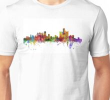 Detroit Michigan Skyline Unisex T-Shirt