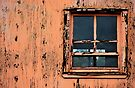 Caboose Window by Laurie Minor