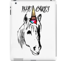 Who cares Hipster Unicorn iPad Case/Skin