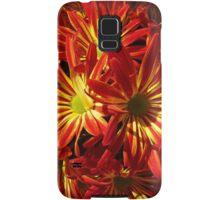 Fiery Hot Flowers Samsung Galaxy Case/Skin