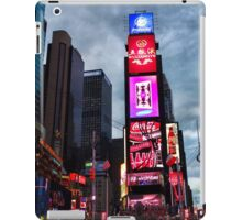 Times Square North H iPad Case/Skin