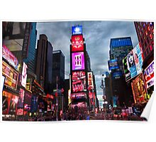 Times Square North H Poster