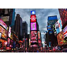 Times Square North H Photographic Print