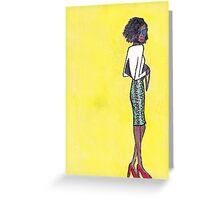 watercolor 10 Greeting Card