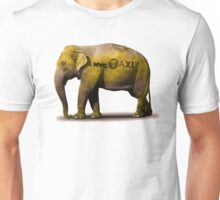 Elephant Taxi NYC Unisex T-Shirt