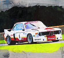 BMW CSL Batmobile by Lightrace