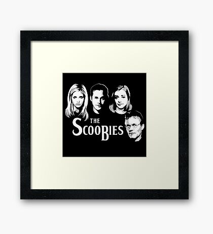 The Scoobies  Framed Print