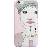 MIss Bored iPhone Case/Skin