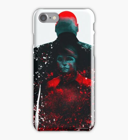 The Rabbit In A Snowstorm iPhone Case/Skin
