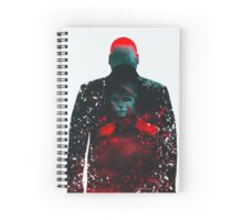 The Rabbit In A Snowstorm Spiral Notebook