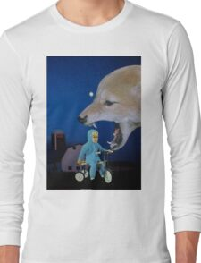 Can't Sleep, Wolf Will Eat Me Long Sleeve T-Shirt