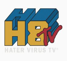 H8 TV Logo. One Piece - Short Sleeve