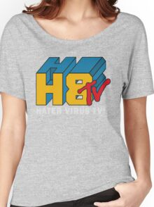 H8 TV Logo. Women's Relaxed Fit T-Shirt