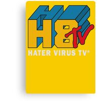 H8 TV Logo. Canvas Print