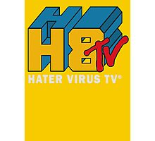 H8 TV Logo. Photographic Print