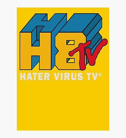 H8 TV Logo. Photographic Print
