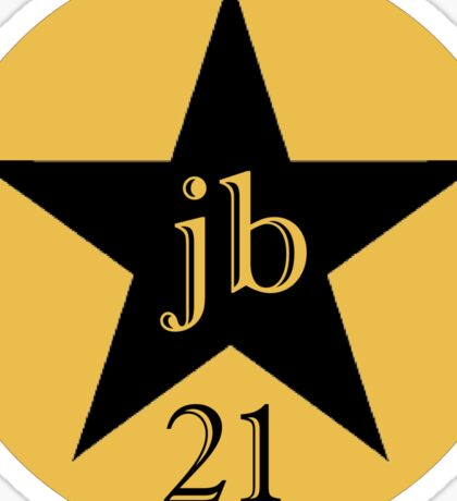 JB 21st Logo  Sticker