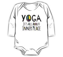 Yoga It's All About Inner Peace One Piece - Long Sleeve