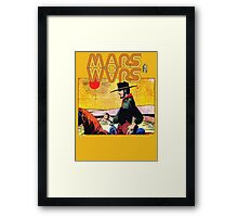 Mars Travels. Framed Print