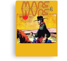 Mars Travels. Canvas Print
