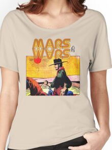 Mars Travels. Women's Relaxed Fit T-Shirt