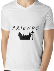 Friends Mens V-Neck T-Shirt