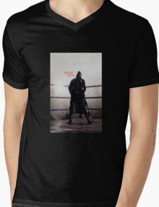 Bronx Bull Part II Mens V-Neck T-Shirt
