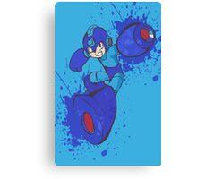 Mega Man Joins The Battle Canvas Print