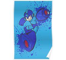 Mega Man Joins The Battle Poster