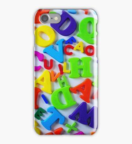 Toy Letters iPhone Case/Skin