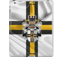 Teutonic Order - Coat of Arms over Flag iPad Case/Skin