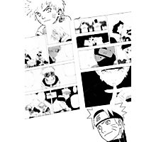 Naruto - A Hero's Evolution (Version 2) Photographic Print