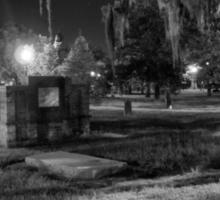 Savannah - Bonaventure Cemetery 003 Sticker