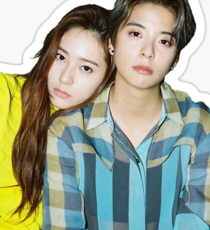 Amber & Krystal Sticker