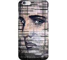 Elvis Presley original  ink painting iPhone Case/Skin