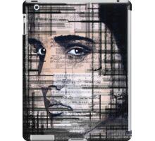 Elvis Presley original  ink painting iPad Case/Skin