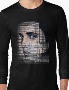 Elvis Presley original  ink painting Long Sleeve T-Shirt