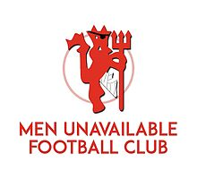 Men Unavailable Football Club by tookthat