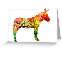 Donkey 2 Greeting Card