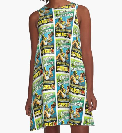 Creature From The Black Lagoon A-Line Dress