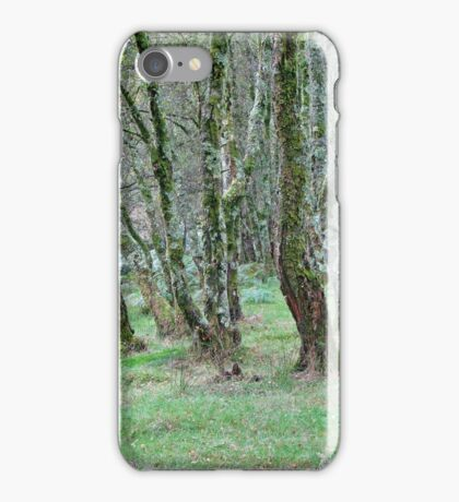 Mossy Woods iPhone Case/Skin