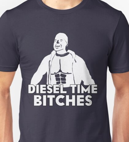 Paul Walker - Diesel Time Bitches Unisex T-Shirt