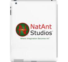 NatAnt Studios' NA Logo and slogan iPad Case/Skin