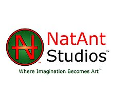 NatAnt Studios' NA Logo and slogan Photographic Print