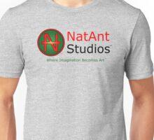NatAnt Studios' NA Logo and slogan Unisex T-Shirt