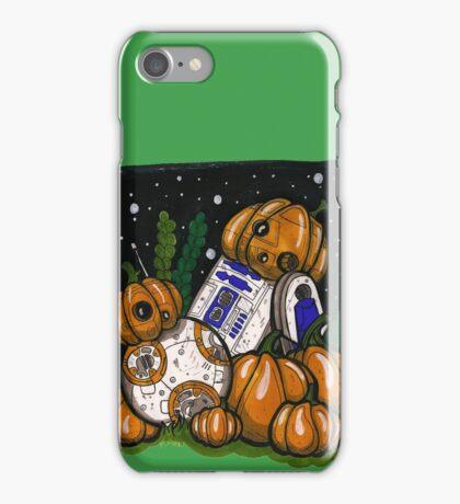 Pumpkin bots! iPhone Case/Skin
